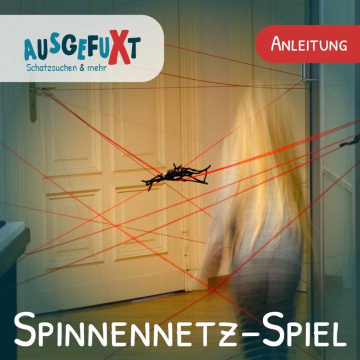 Spinnennetz-Spiel zum Kindergeburtstag