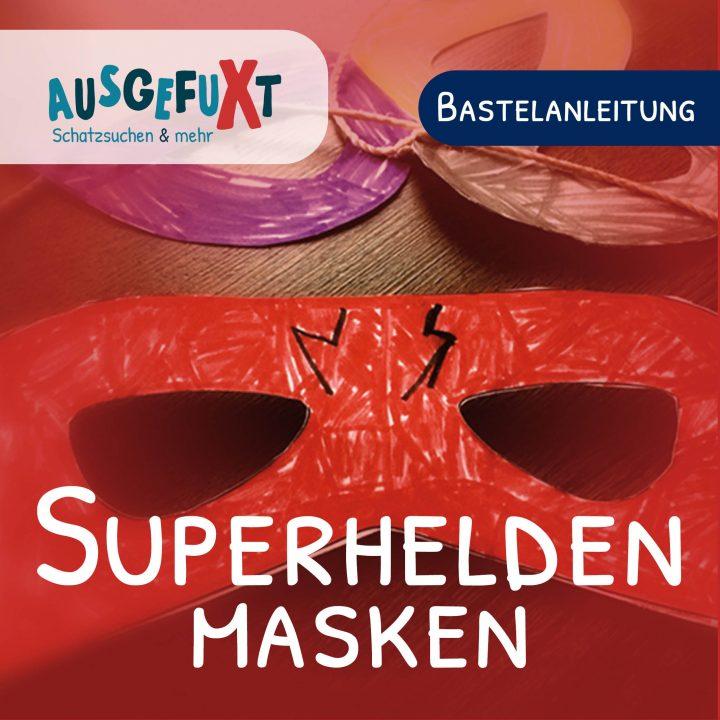 Superhelden-Masken: Kostenlose Druckvorlage