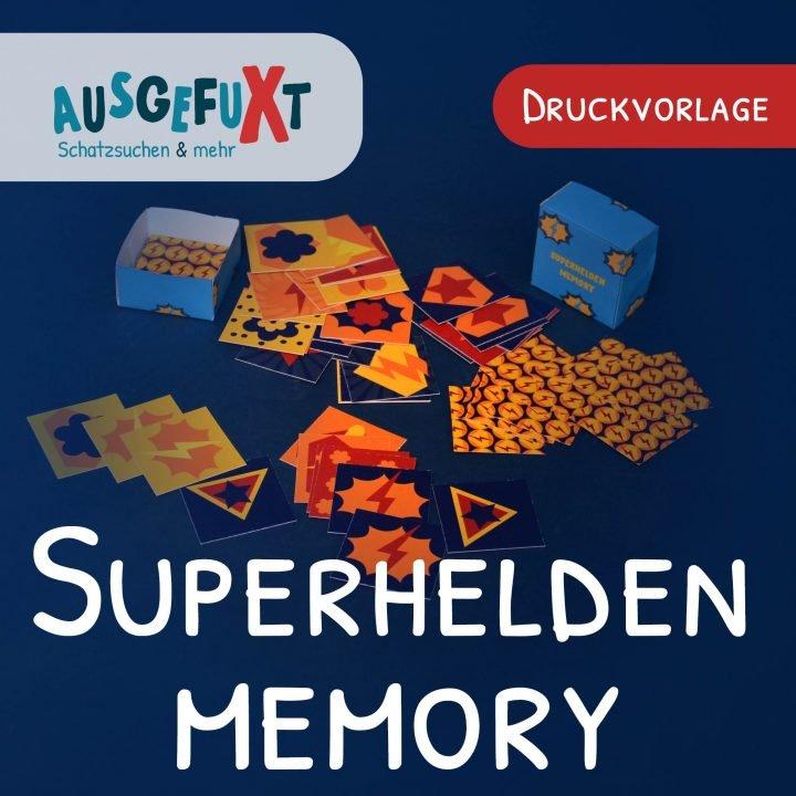 Superhelden-Memory