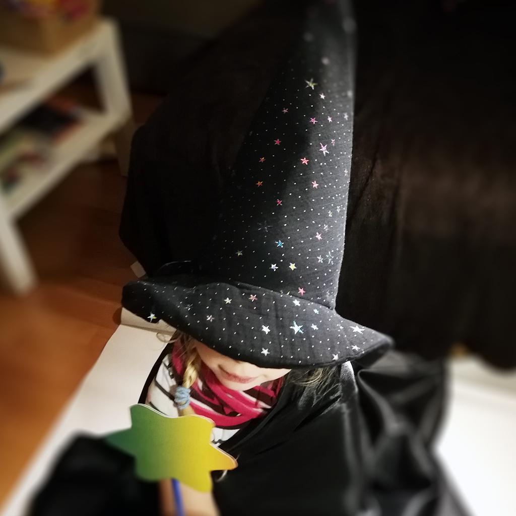 Zauberhut für kleine Zauberschüler