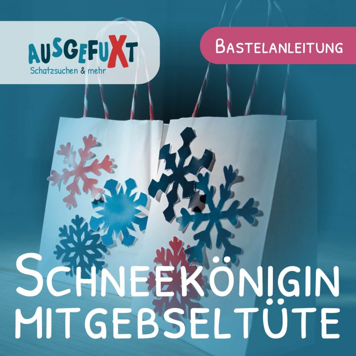 Schneekönigin-Mitgebseltüte