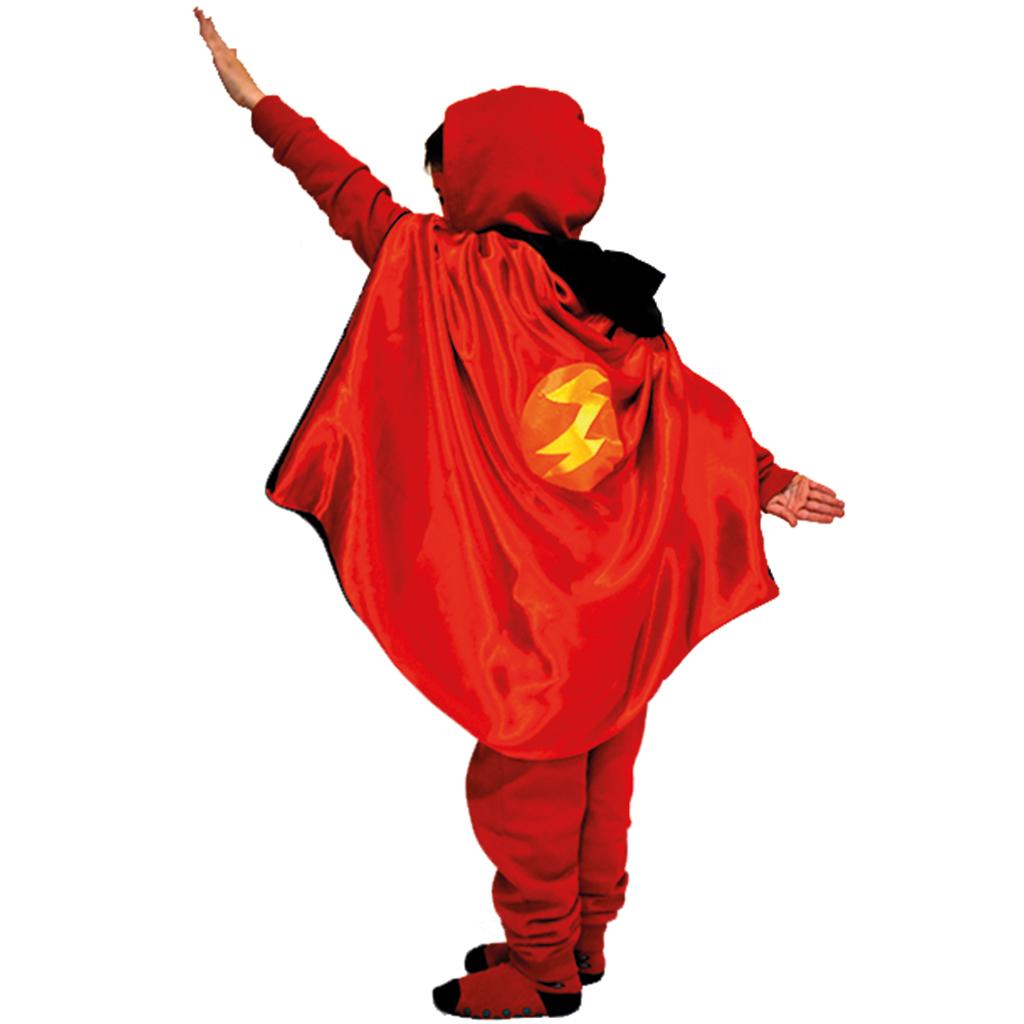 Kostenlose Nähanleitung & Schnittmuster: Superhelden-Wendeumhang