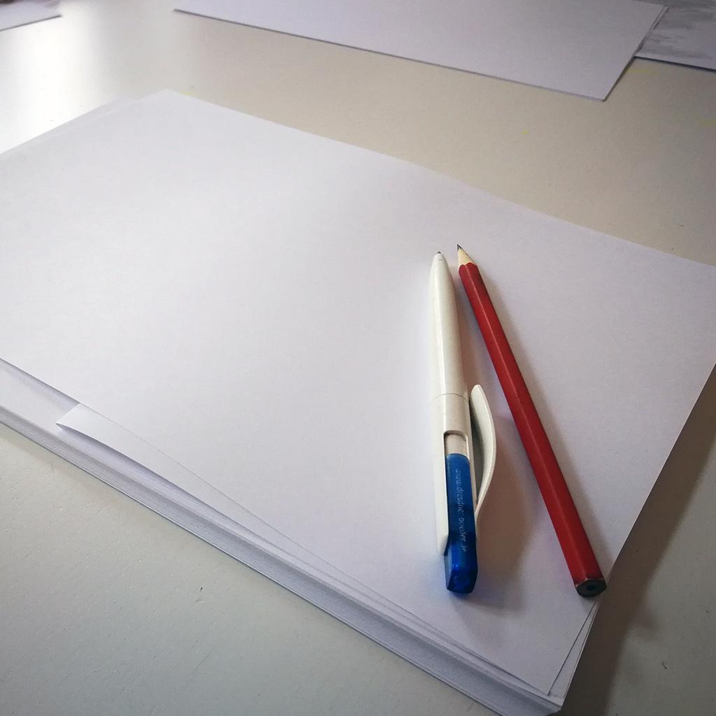 Unsichtbare Schrift - Start
