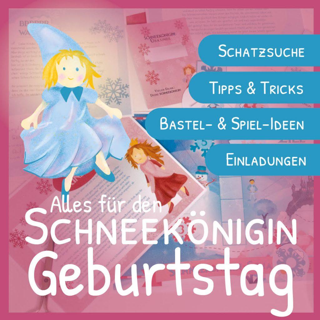 Der Schneekönigin-Kindergeburtstag
