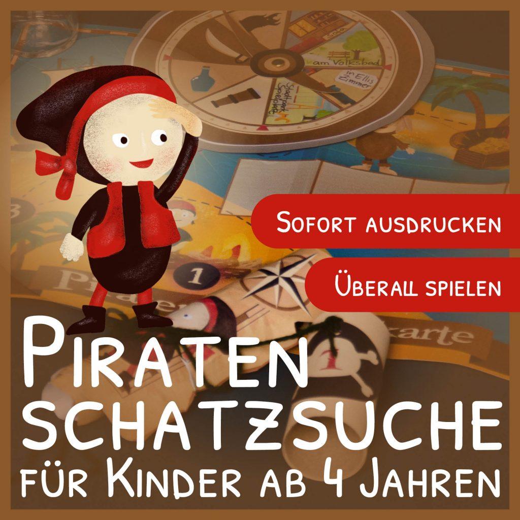 Piraten-Schatzsuche: Hinkebein sucht seinen Schatz