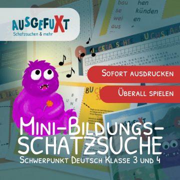 """Mini-Bildungs-Schatzsuche """"Der singende Troll"""""""