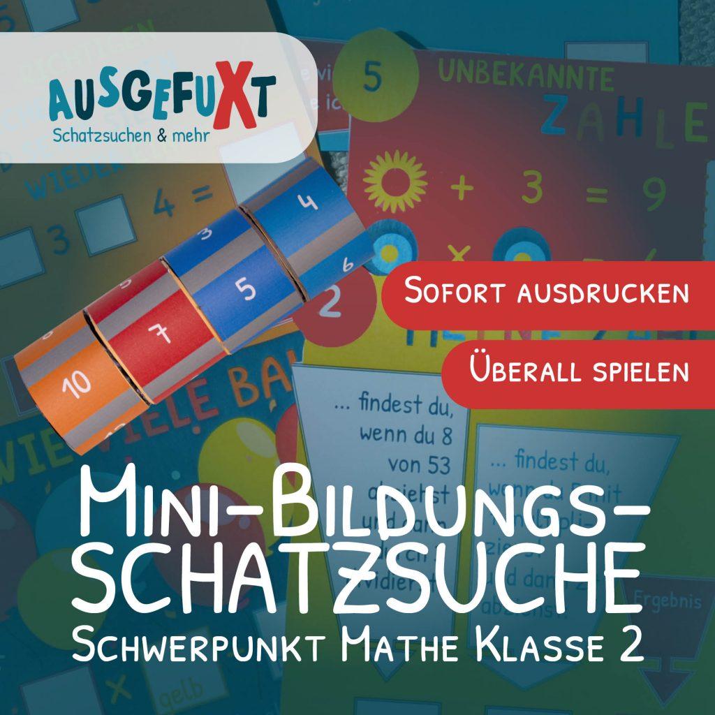 """Mini-Bildungs-Schatzsuche """"VerliXte Rolle"""" Klasse 2"""
