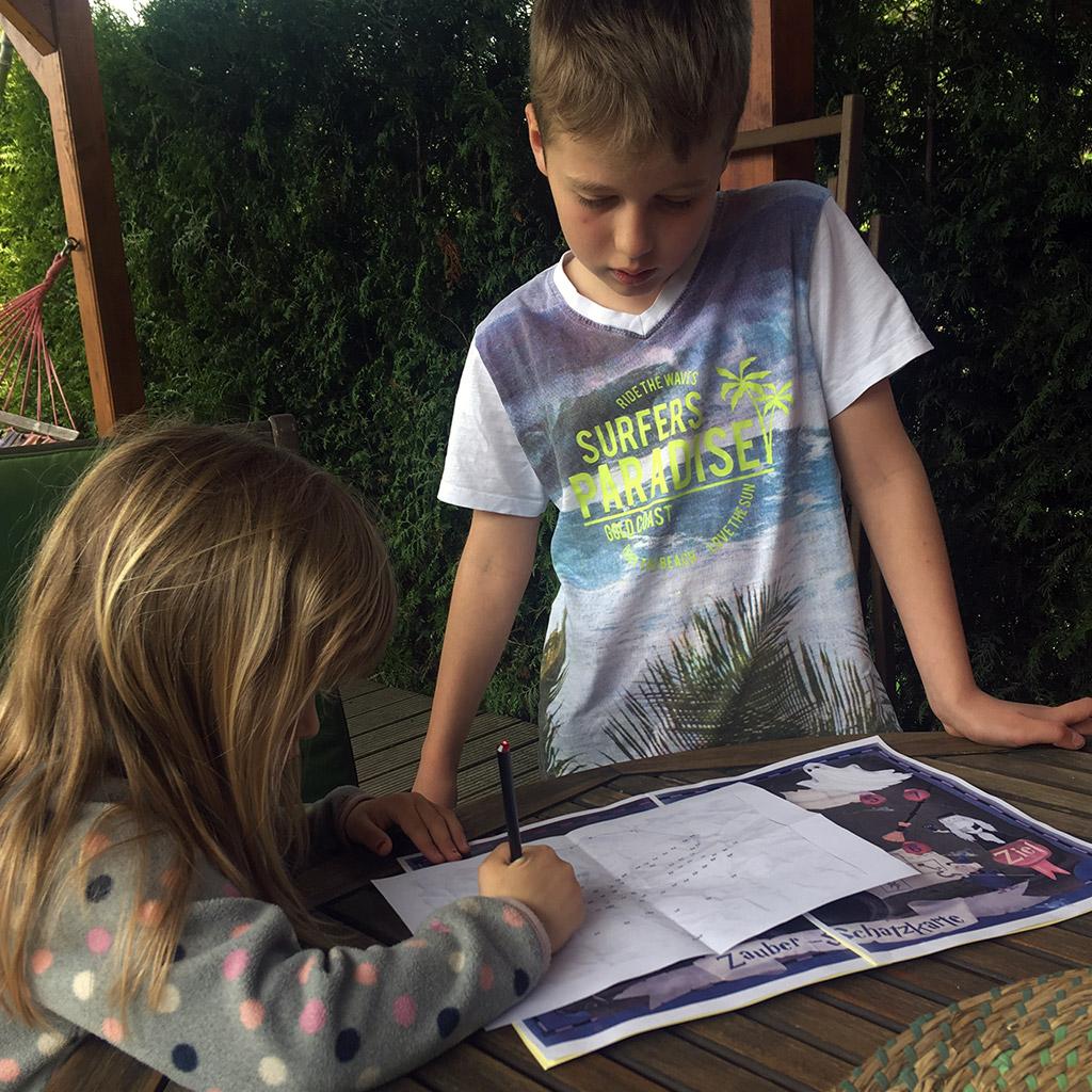 Erfahrungsbericht zur Zauberer-Schatzsuche von Kind und Kegel