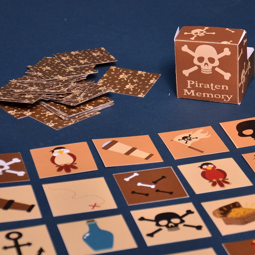 Piraten-Memory: Schachtel