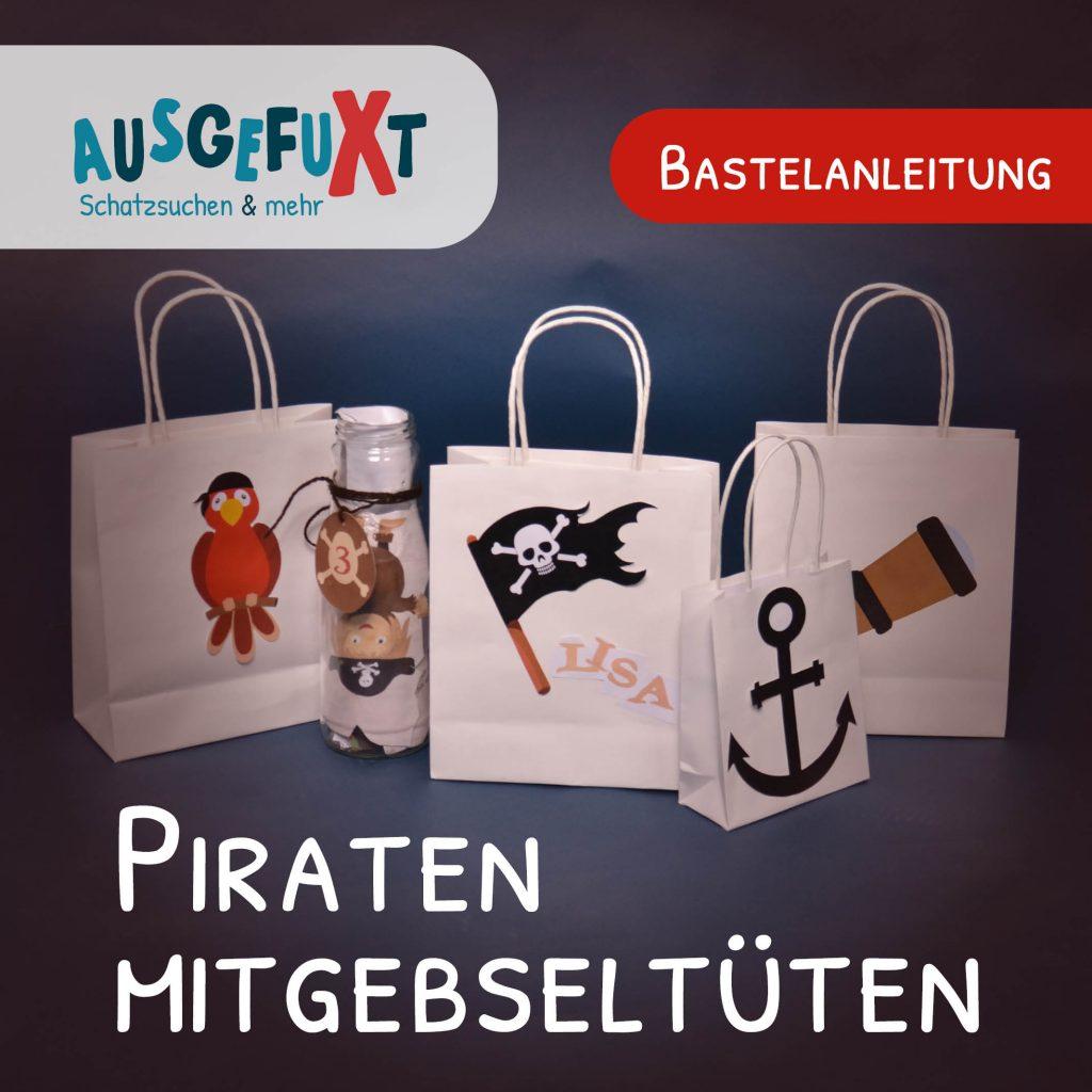 Kostenlose Bastelanleitung: Piraten-Mitgebseltüten