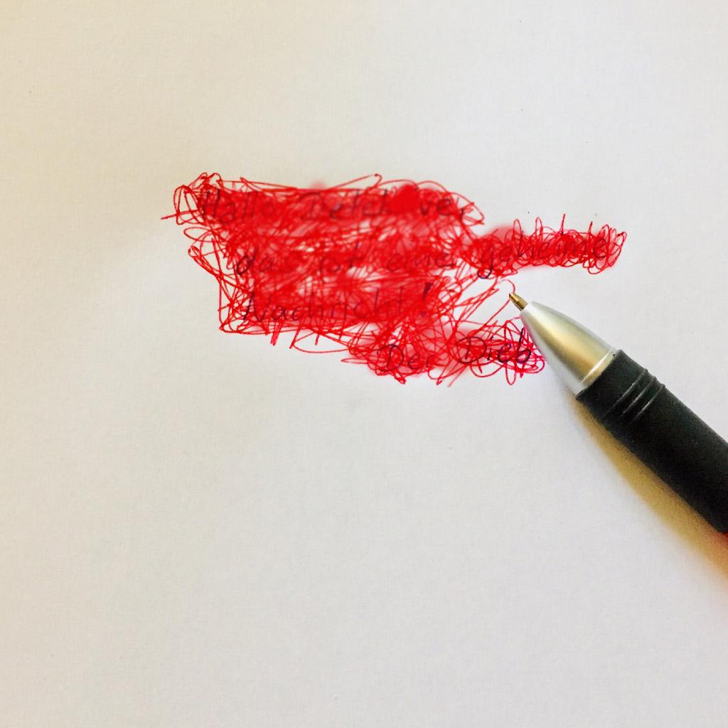 Codierung von geheimen Nachrichten: Schreiben