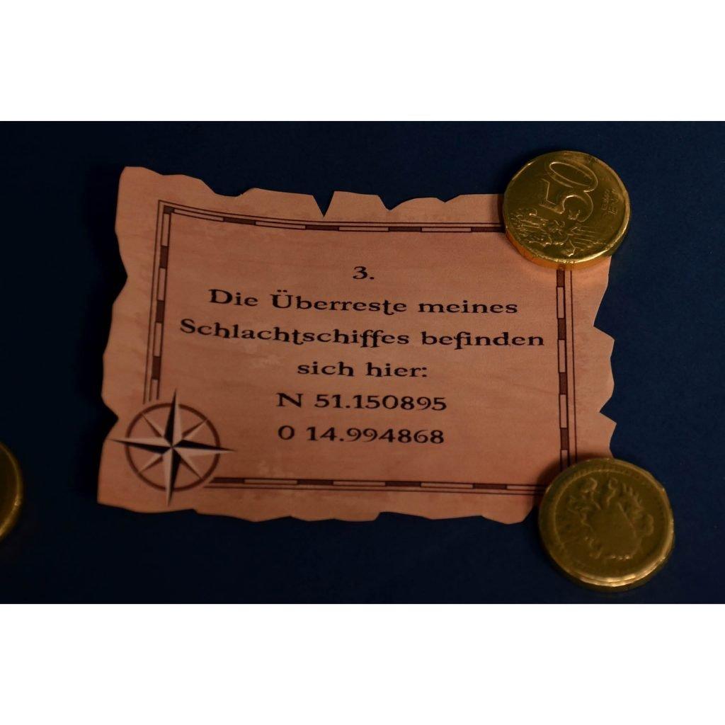 """Piraten-Schatzsuche """"für Große"""": GPS-Hinweise"""