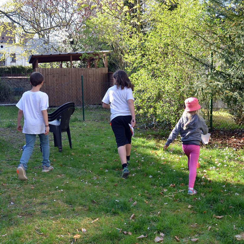 Superhelden-Schatzsuche: In unserem Garten