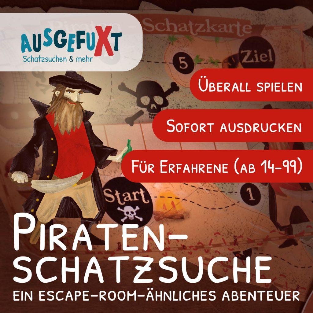 """Piraten-Schatzsuche """"für Große"""": Ein Escape-Room-ähnliches Abenteuer"""
