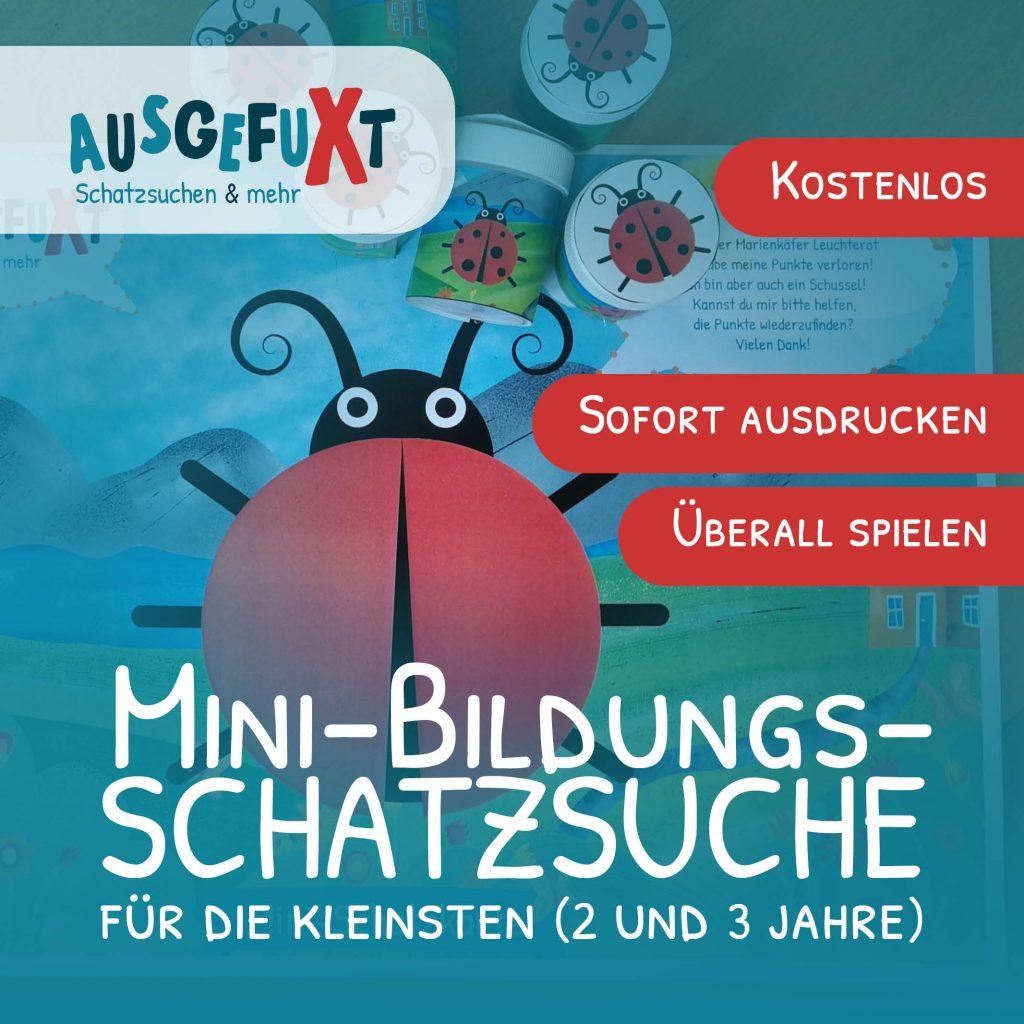 """Mini-Bildungs-Schatzsuche für die Kleinsten """"Marienkäferchens Punkte"""""""