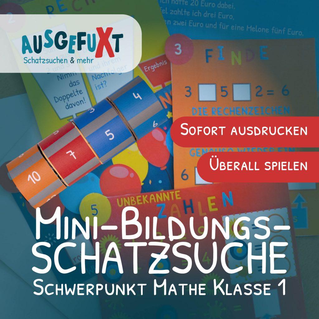 """Mini-Bildungs-Schatzsuche """"VerfliXte Rolle"""" Klasse 1"""