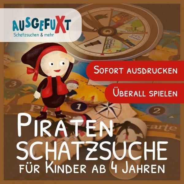 """Piraten-Schatzsuche: """"Hinkebein sucht seinen Schatz"""""""