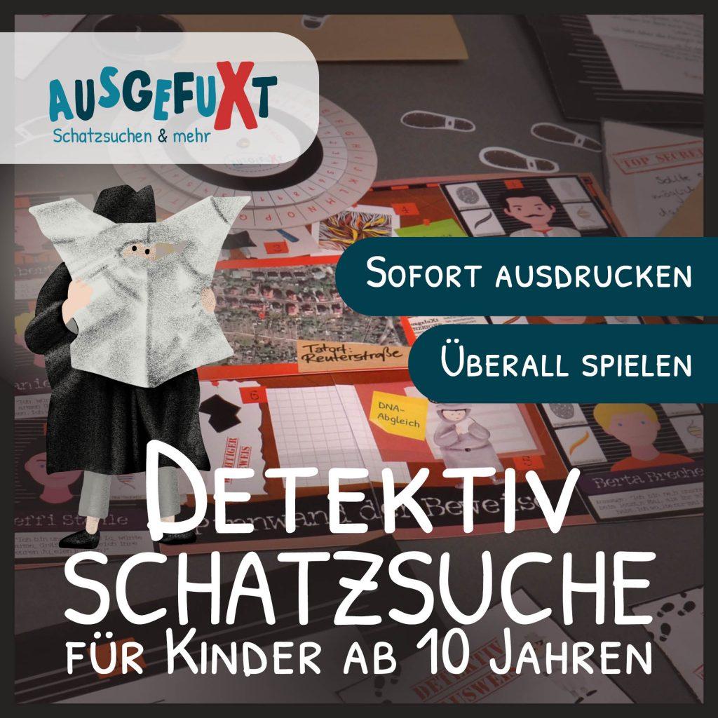 """Detektiv-Schatzsuche """"Der Juwelenraub"""""""