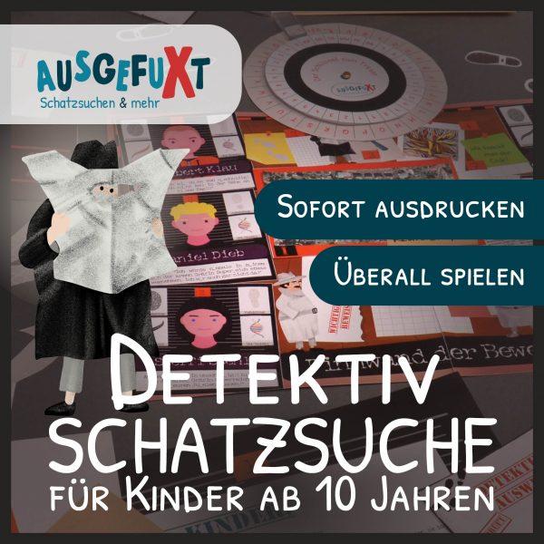 Detektiv-Schatzsuche