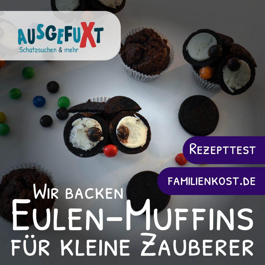 Eulen-Muffins für kleine Zauberer