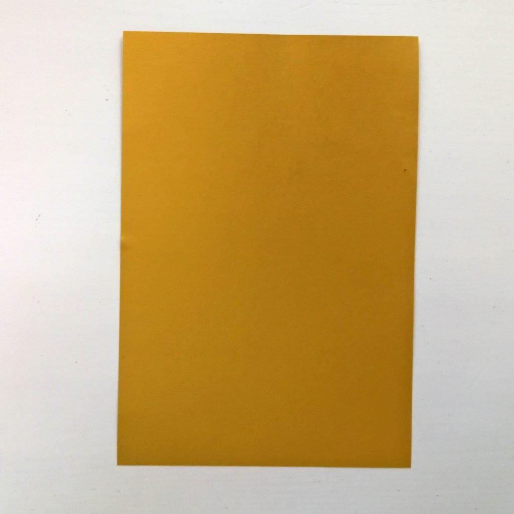 Goldbarren basteln: Goldpapier