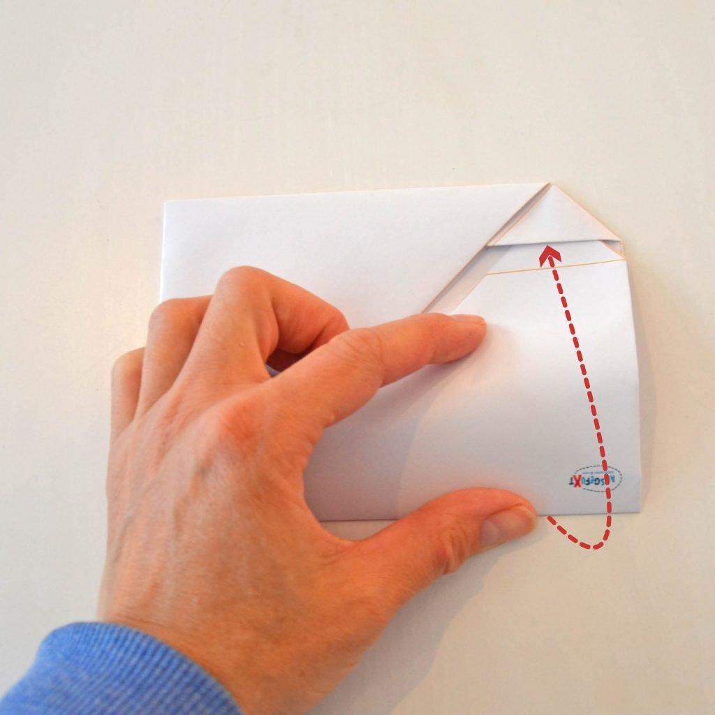 Briefumschläge selber machen: Schritt 5
