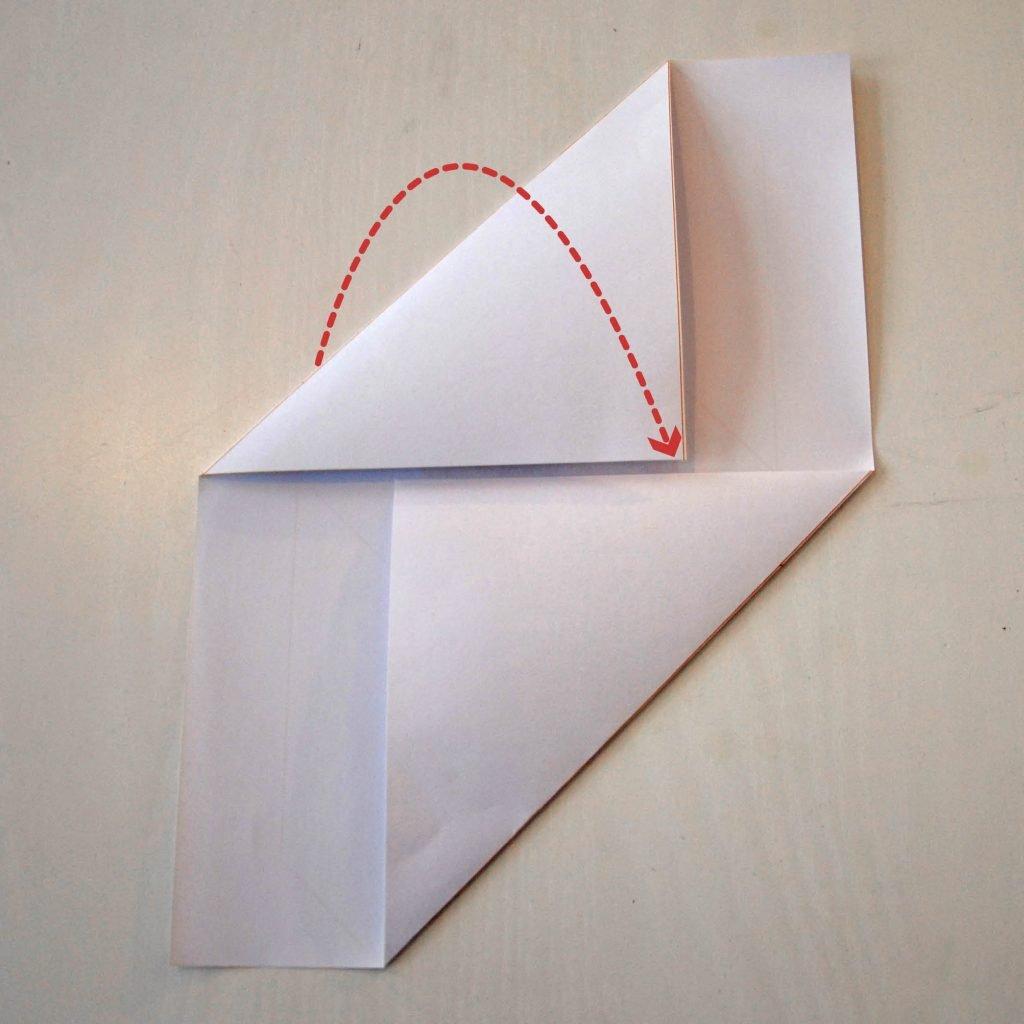 Briefumschläge selber machen: Schritt 2