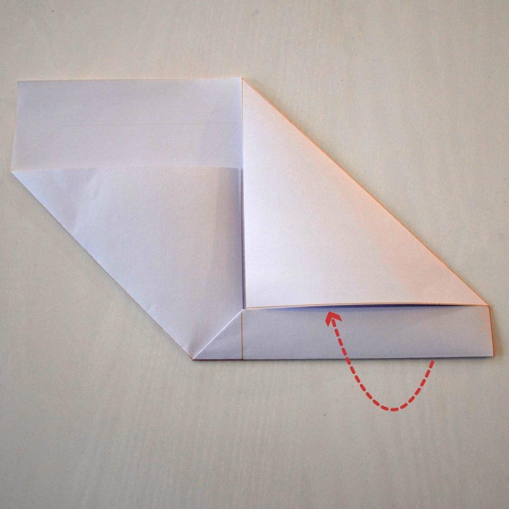 Briefumschläge selber machen: Schritt 3