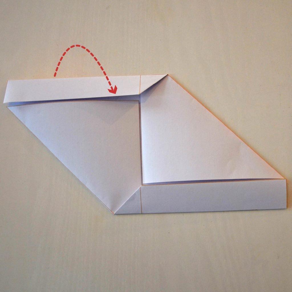 Briefumschläge selber machen: Schritt 4