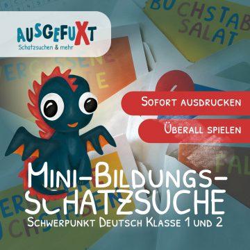 "Mini-Bildungs-Schatzsuche Mini-Bildungs-Schatzsuche: ""Schwarzpfote & Oskar"""
