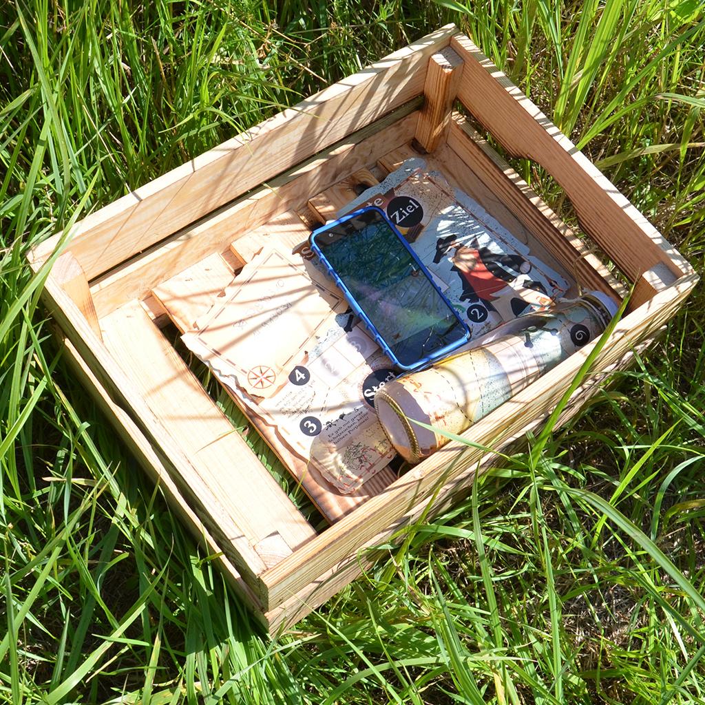 Schatzsuchen-Hinweise mit GPS codieren: Die Versteck-Tour