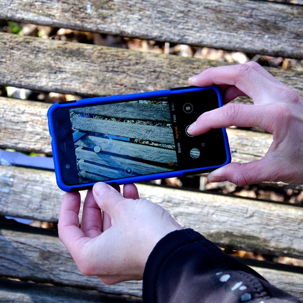 Schatzsuchen-Hinweise mit GPS codieren: Foto Ihres Verstecks