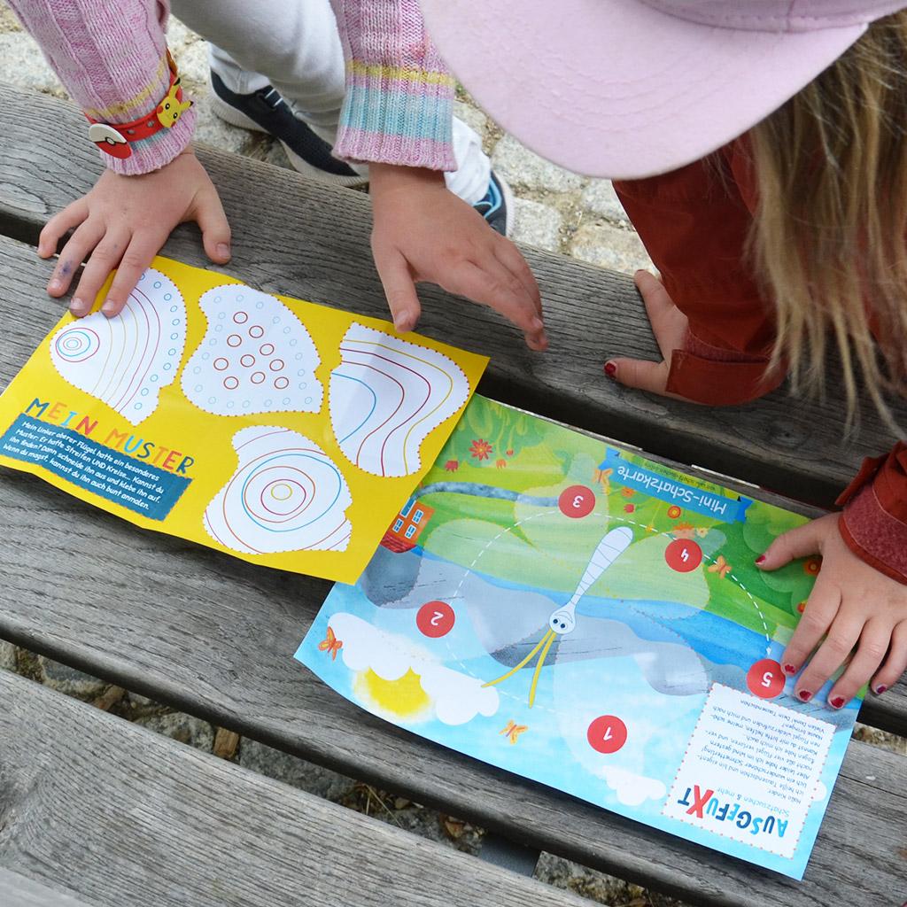 Schatzsuche für 5-jährige Kinder: Rätsel 1
