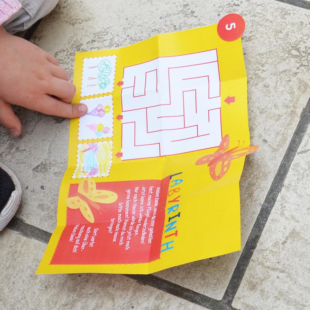 Schatzsuche für 5-jährige Kinder: Der Schatz