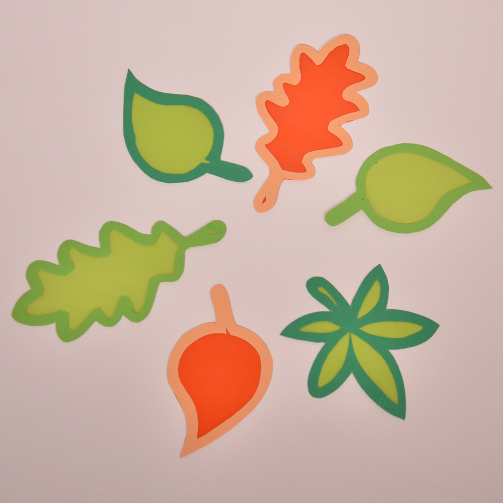 Druckvorlage für Blätter