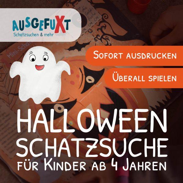 """Mini-Halloween-Schatzsuche: """"Herman sucht den Kürbis"""""""