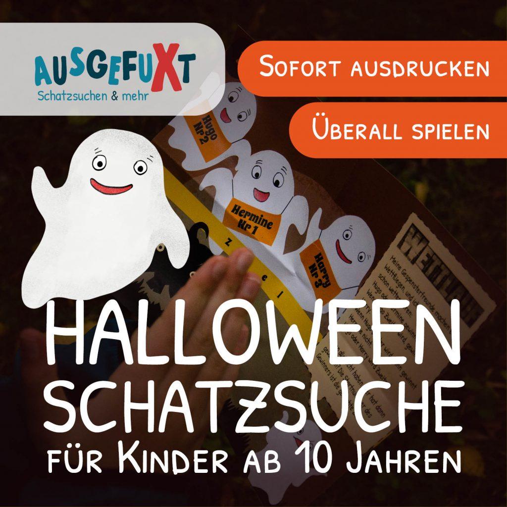 Halloween-Schatzsuche für Rätselfans