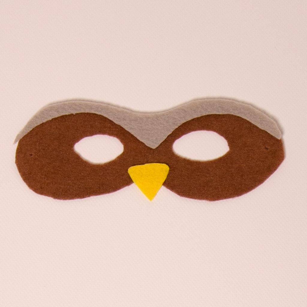 Tiermaske: Eule