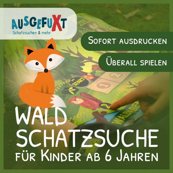 """Wald-Schatzsuche """"Das Waldabenteuer"""""""
