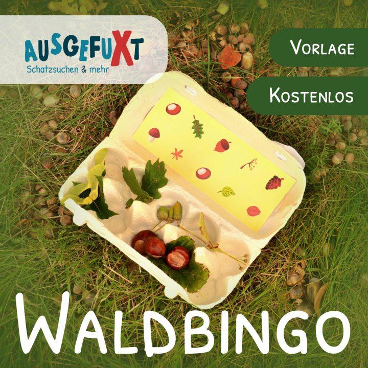 Waldbingo: kostenlose Druckvorlage