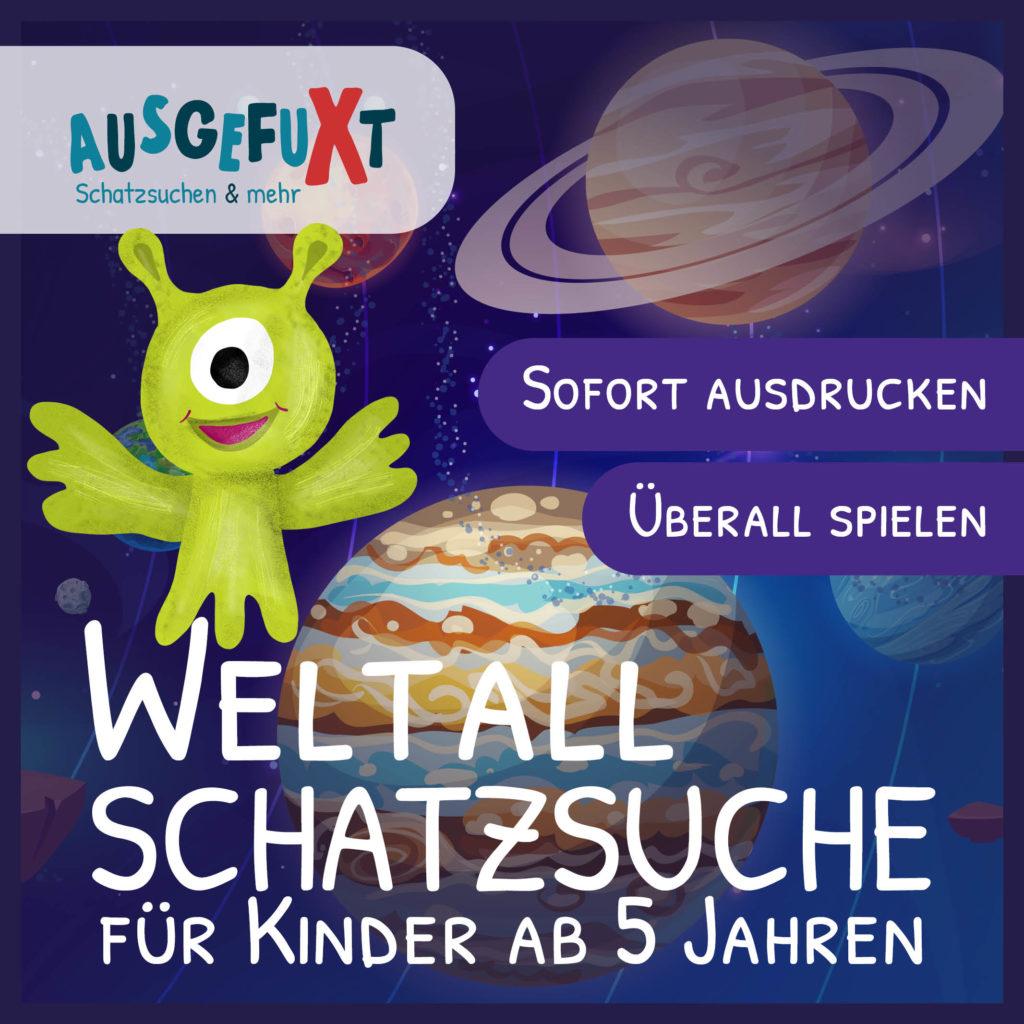 """Weltall-Schatzsuche """"Verloren im Weltall I"""""""