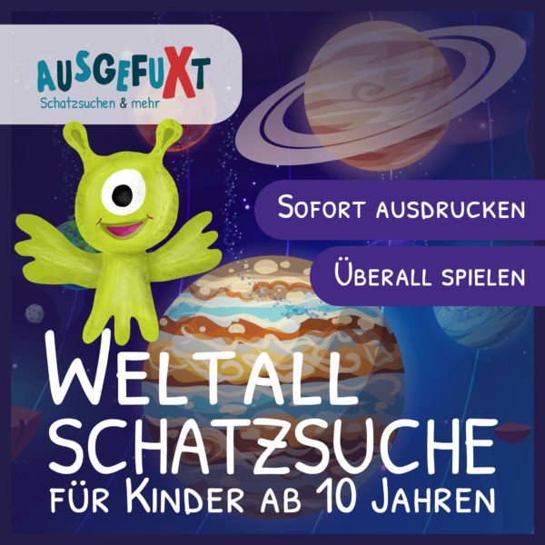 """Weltall-Schatzsuche """"Verloren im Weltall"""""""