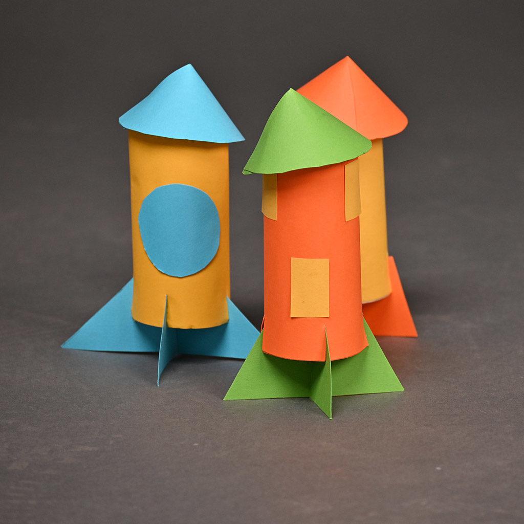 Mehrere Raketen basteln