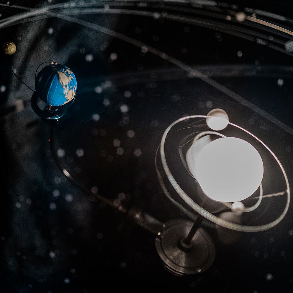 Eine Schatzsuche zum Thema Weltraum