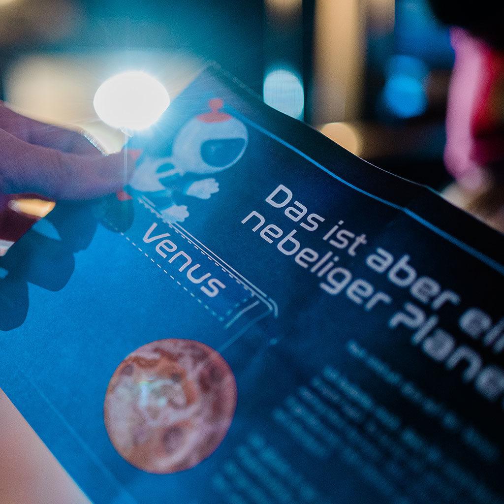 Schatzsuche zum Thema Weltraum: Das Rätsel an der Venus