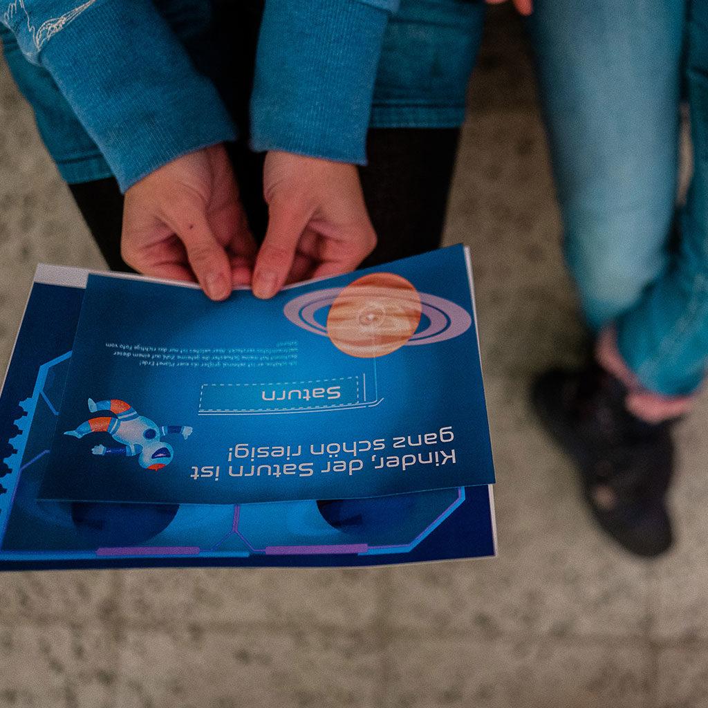 Schatzsuche zum Thema Weltraum: Das Rätsel am Uranus