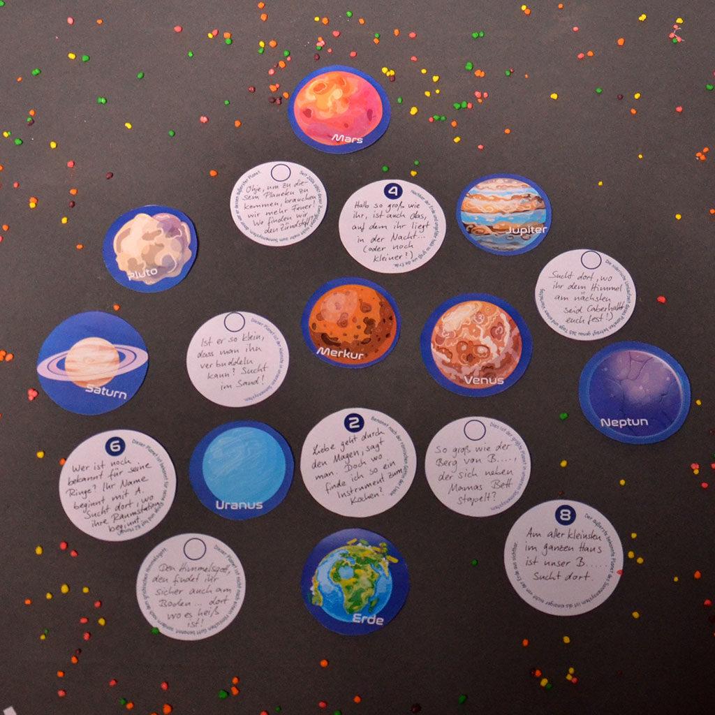 Das Planeten-Rätsel vorbereiten