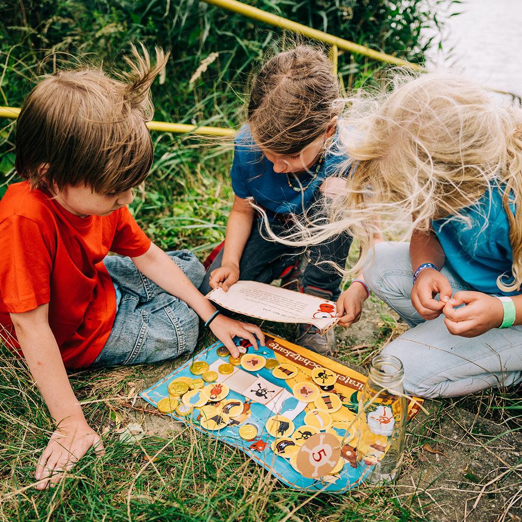 Schatzsuche zum Kindergeburtstag: Es ist ein wunderbarer Nachmittag