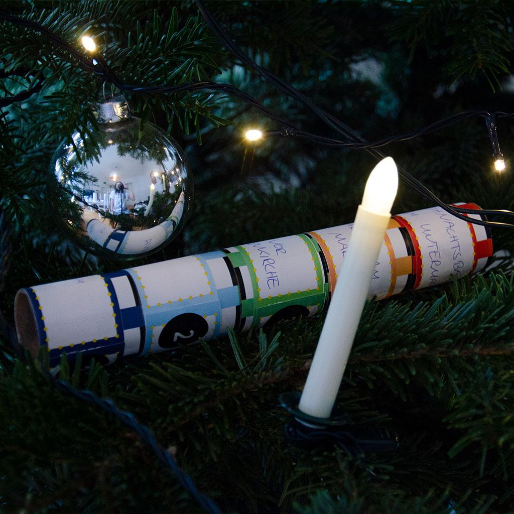"""Weihnachtsstimmung mit der Mini-Weihnachtsschatzsuche """"VerfliXte Rolle"""""""