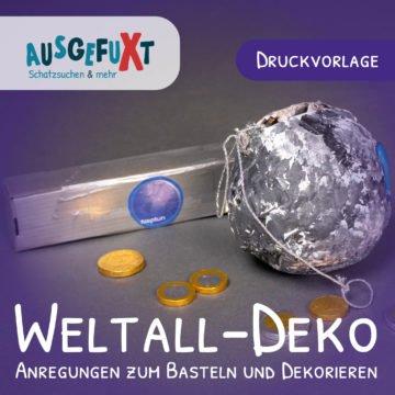 Weltall-Deko